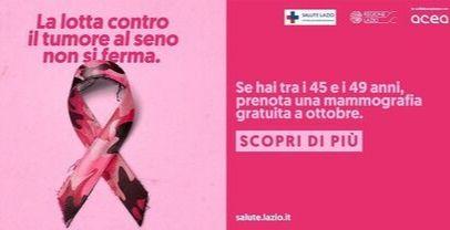 Ottobre Rosa, mese della prevenzione del tumore al seno