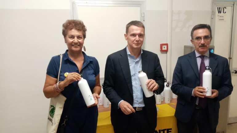 L'ITS A. Bianchini di Terracina è la prima Plastic Free School della Provincia di Latina