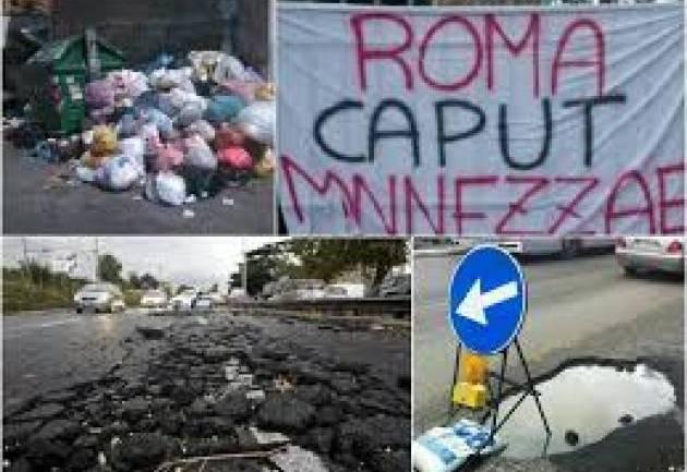 """Rifiuti, Lega """"Raggi ama poltrona, sfiducia anche per Zingaretti"""""""