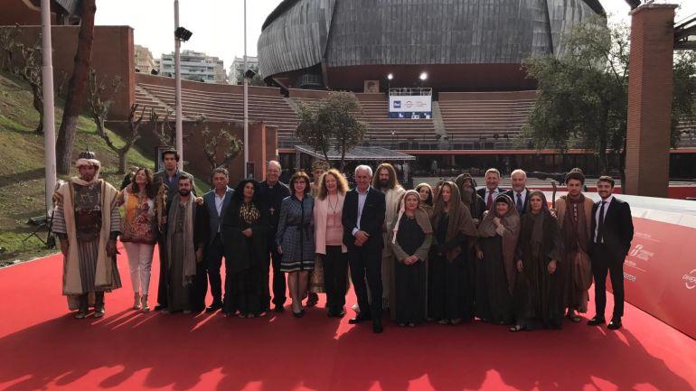 La Sacra rappresentazione diMaenza e il videocatechismo sul red carpet del cinema di Roma