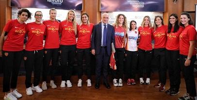 Sport:presentati i campionati di Volley 2019/2020