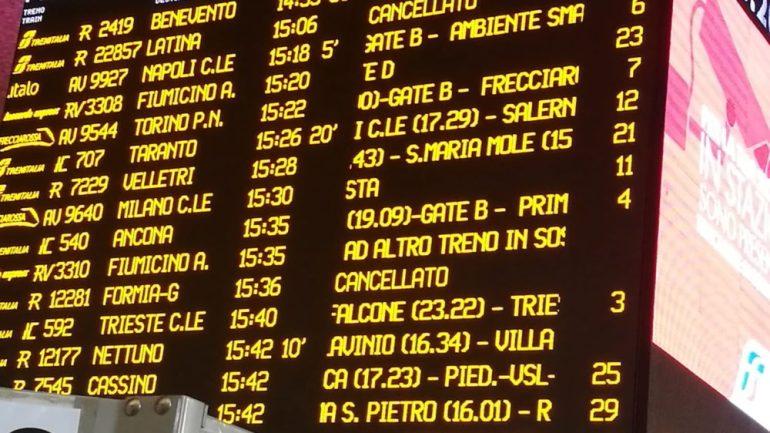 """""""Ancora ritardi sulla tratta Roma – Napoli via Formia"""""""