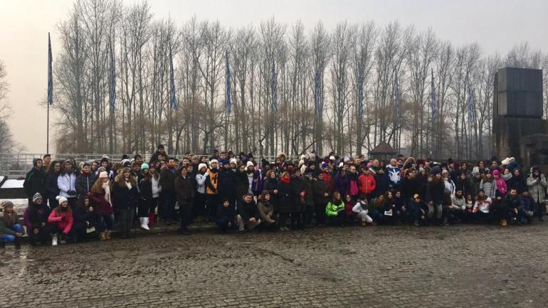 Cori ospite del sindaco di Oswiecim (Auschwitz) per il 75° della liberazione