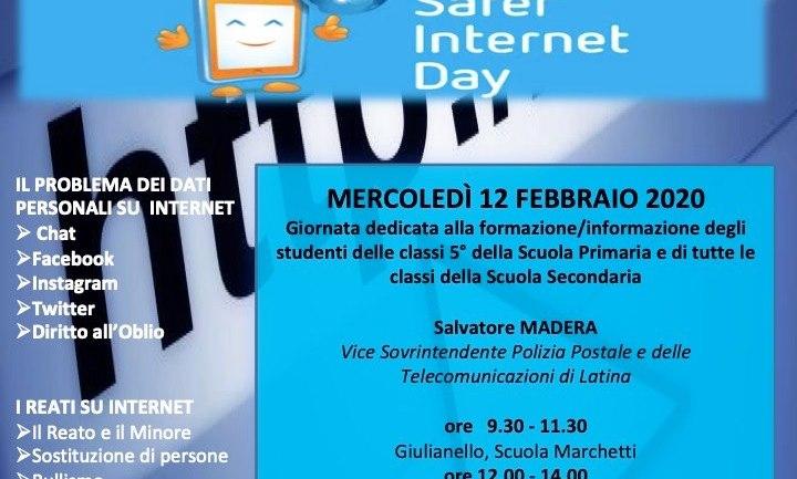 Safer Internet Day nelle scuole di Maenza, Cori e Bassiano