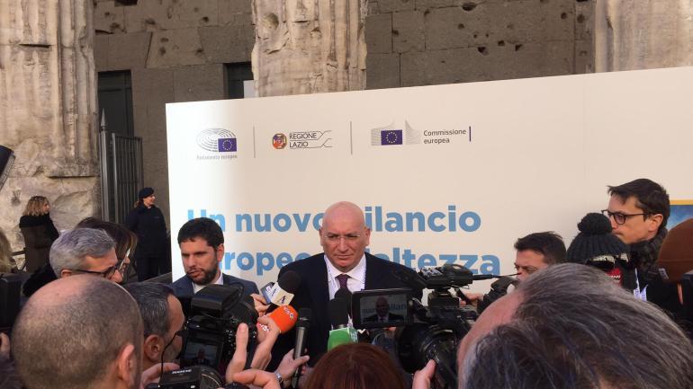 Adinolfi a Roma all'incontro con Conte e Sassoli sul prossimo Bilancio Europeo: «Pac e Green New Deal incideranno sul futuro del Paese e della provincia di Latina»