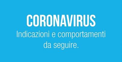 """""""Coronavirus: la Regione ha attivato  tutte le misure per la tua sicurezza"""""""
