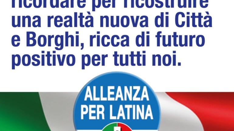 Alleanza per Latina: dalle nostre radici costruiamo il nostro futuro