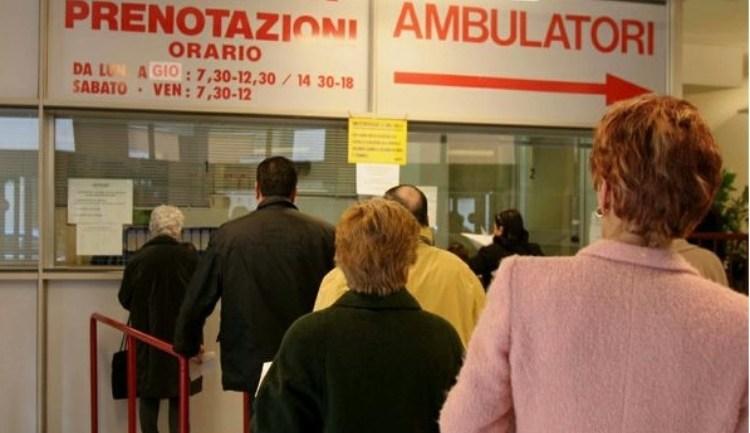 Sanità: caos sulle liste d'attesa