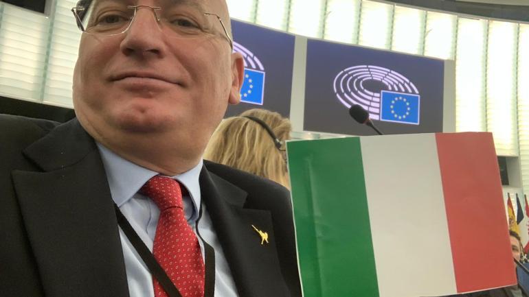 Adinolfi-Lega, interrogazione alla Commissione Ue per bloccare nuovi dazi Usa