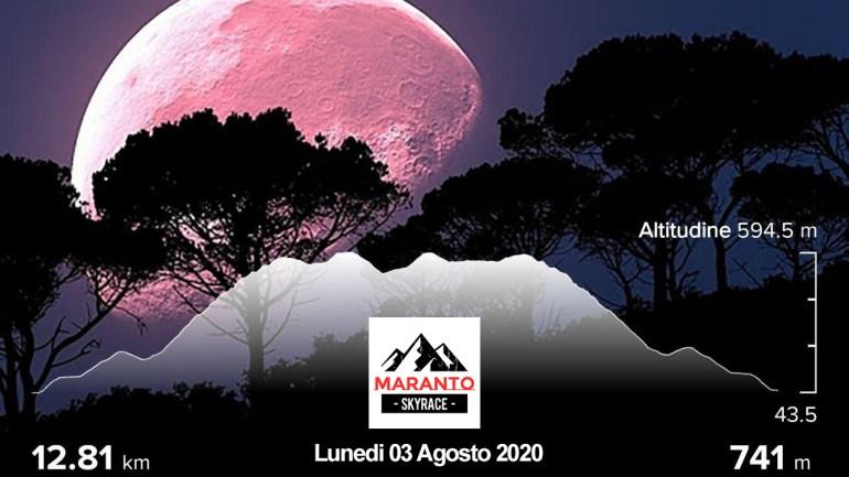 Correre in montagna, con la luna piena L'ASD Top Trail di Fondi