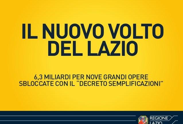 Il nuovo volto del Lazio: infrastutture, cantieri e opere