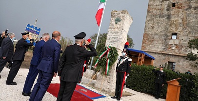 """Regione Lazio. Inaugurato il museo """"Salvo D'Acquisto alla Torre di Palidoro"""
