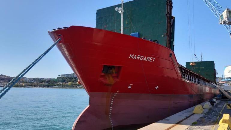 Circular economy al porto di Gaeta: una nuova spedizione di CSS prodotto da Ecosystem (Pomezia) con il supporto del partner logistico Intergroup