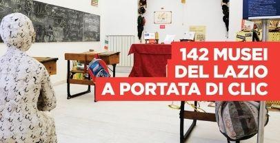 Regione Lazio. Rete musei a portata di click
