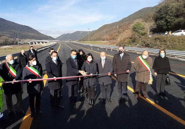 Inaugurati 3 km della direttrice Terni – Rieti