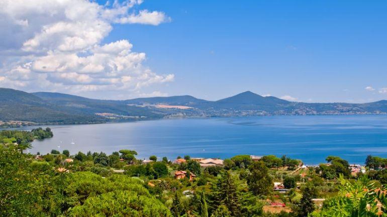 Parco di Bracciano, 33 km di pista ciclabile intorno al lago