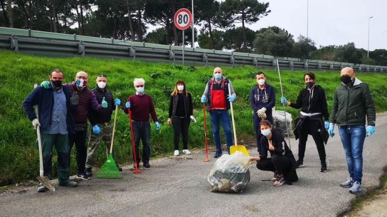 Doppia giornata ecologica domenica a Fondi: grandi pulizie a Capratica e Torre Canneto