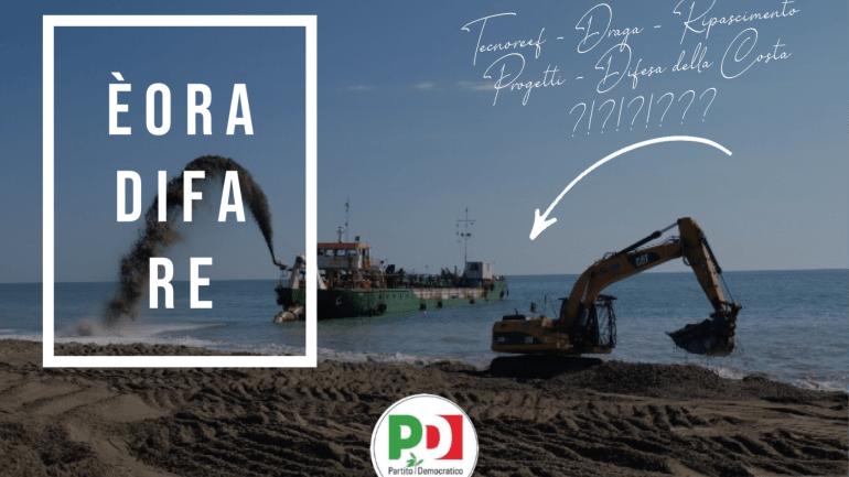 Terracina. Il Pd e l'inesistente difesa dell'assessora sul ripascimento