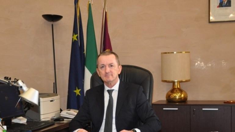 Fondi. Il Questore Michele Maria Spina incontra il dirigente del commissariato De Bartolis e il sindaco Maschietto