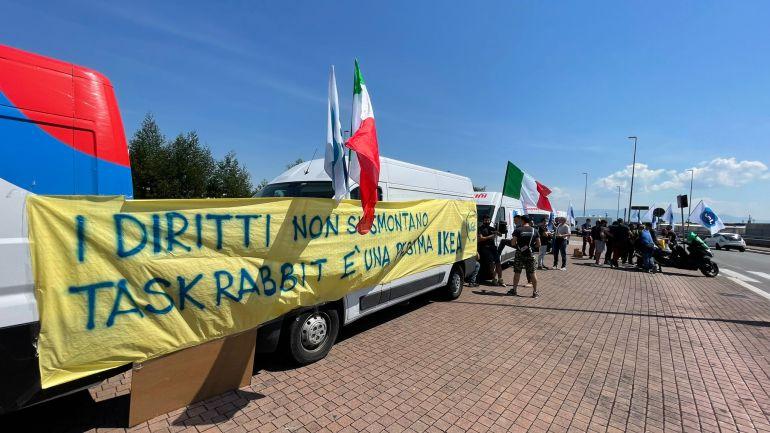 Sciopero ad oltranza all'Ikea di Roma da parte dei lavoratori post vendita