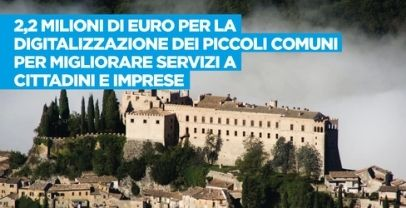 Piccoli Comuni: da giunta Lazio ok a 2 mln euro per processo digitalizzazione
