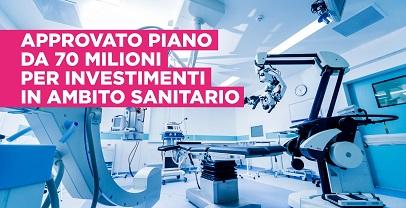 Regione Lazio. Sanità:approvato piano investimenti in ambito sanitario per 70 milioni