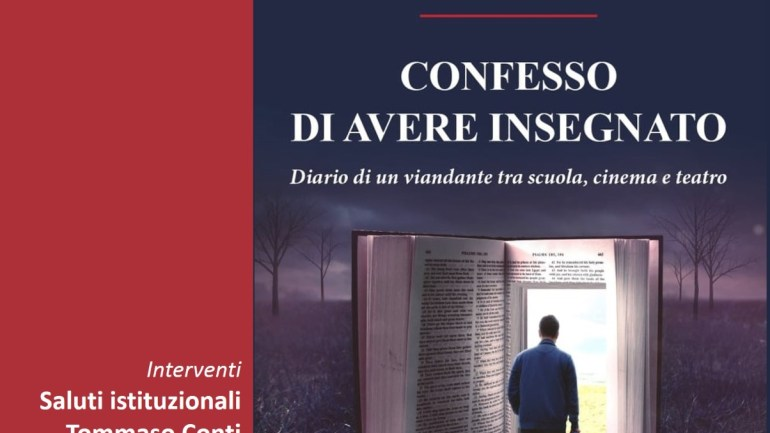 Confesso di aver insegnato:venerdì a Cori la presentazione del libro di Giorgio Maulucci