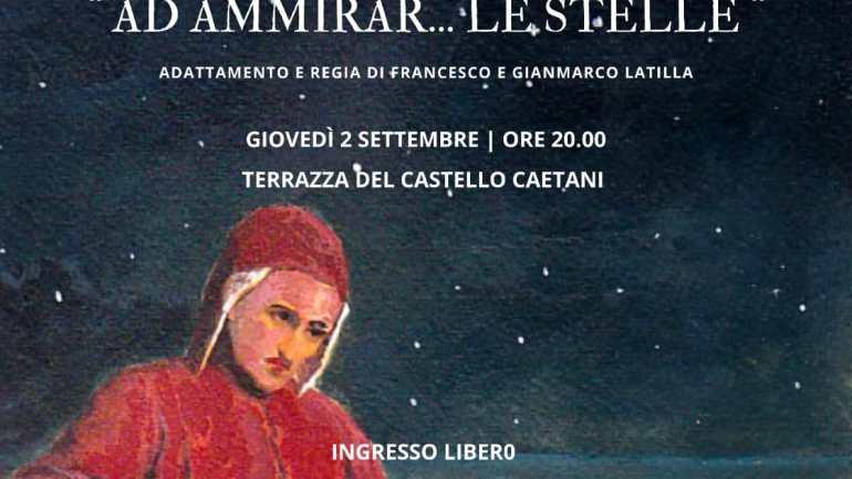 """""""Ad Ammirar… le stelle"""": i fratelli Latilla tornano ad omaggiare Dante sulla terrazza del Castello"""