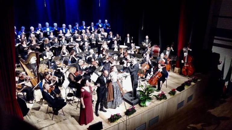 Cori. Sabato 7 agosto concerto della Nova Amadeus in piazza del tempio d'Ercole