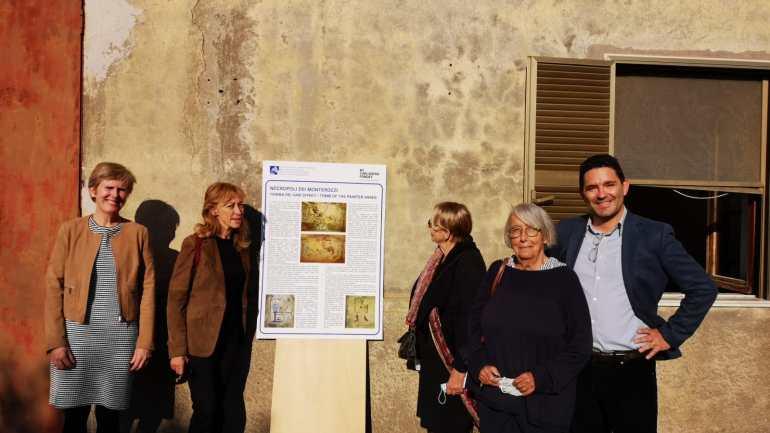 """La """"Tomba dei Vasi Dipinti"""": un patrimonio riconquistato"""