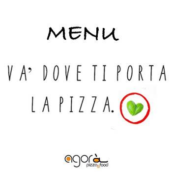 menu pizzeria agorà solarino