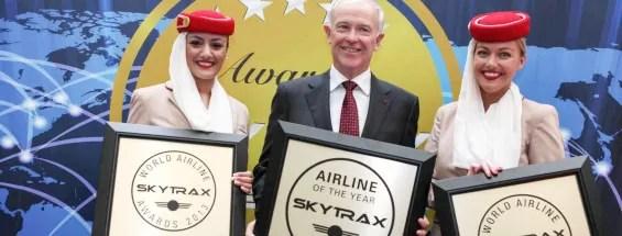 Melhor companhia aéreas do mundo 2013 - Prêmio SkyTrax Emirates 2013