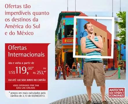 Promoção TAM - América do Sul