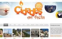 Promoção de passagens aéreas para Abril de 2014 (Cidades em Festa)