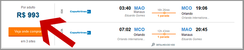Passagens aéreas baratas para Orlando 2015