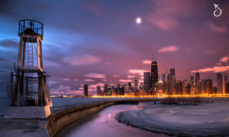 Chicago no inverno