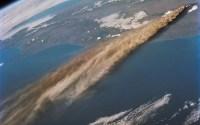 10 Imagens incríveis de erupções vulcânicas tiradas pela NASA