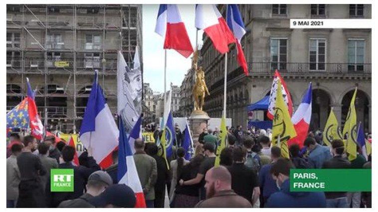 Marche pour le climat royaliste en hommage à Jeanne d'Arc