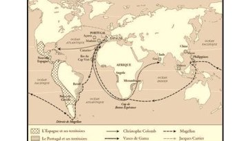 L'âge d'or des grandes découvertes maritimes