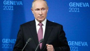 Conférence de presse de Vladimir Poutine après sa rencontre avec Joe Biden