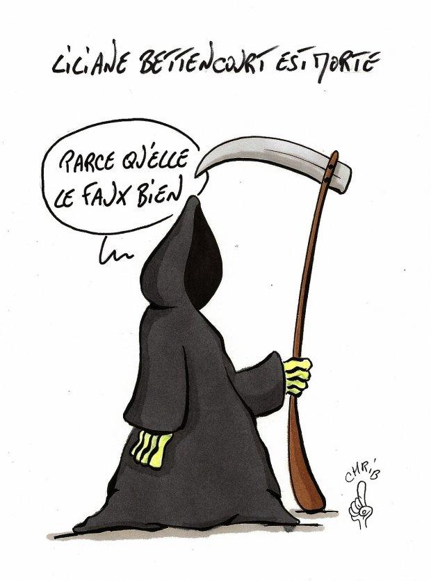 Mort De Liliane Bettencourt AgoraVox Le Mdia Citoyen