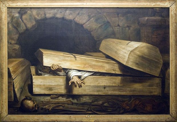 inhumation precipitee wiertz