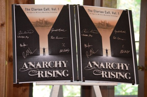Two signed posters at auction