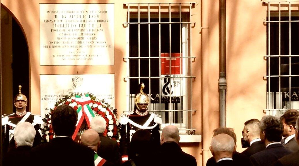 Commemorazione di Roberto Ruffilli - 16 april e2018 - foto di Luciano Ghelfi
