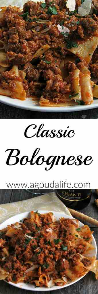 Classic Bolognese Recipe ~ for meat lovers and those looking for a classic meal for a special occasion, this is it. Buttery, velvety tomato rich meat sauce.