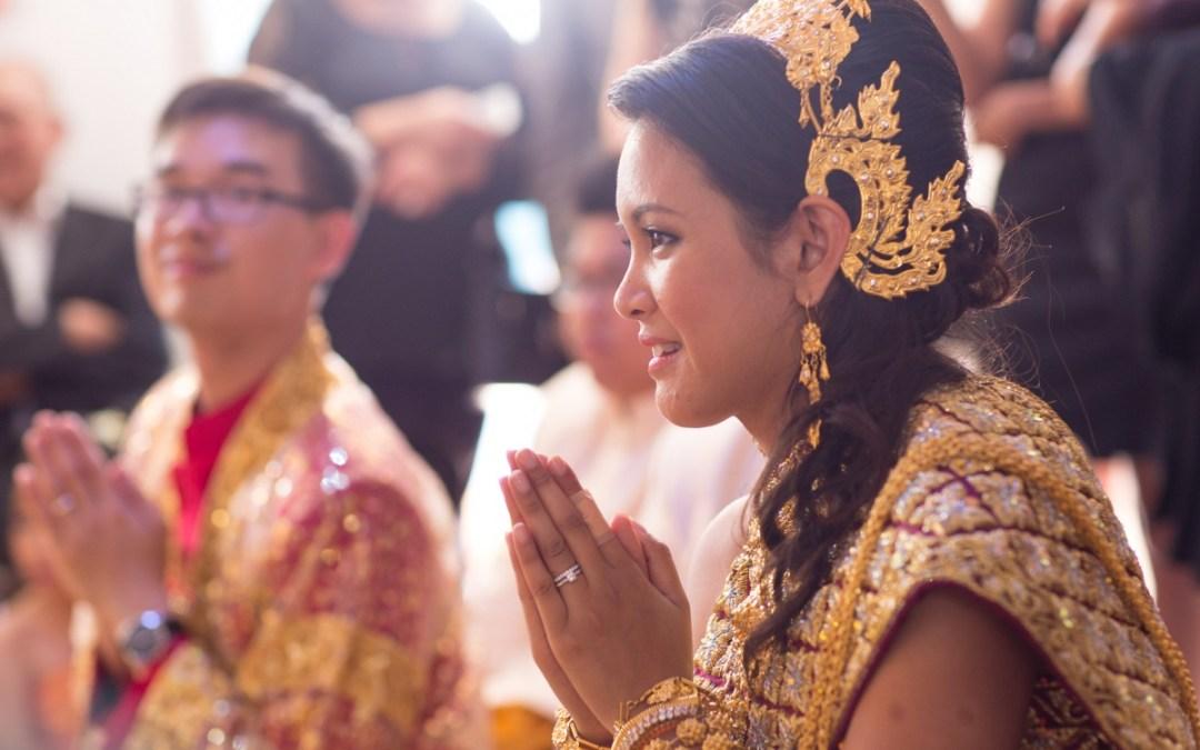L+A : un mariage sino-cambodgien haut en couleurs