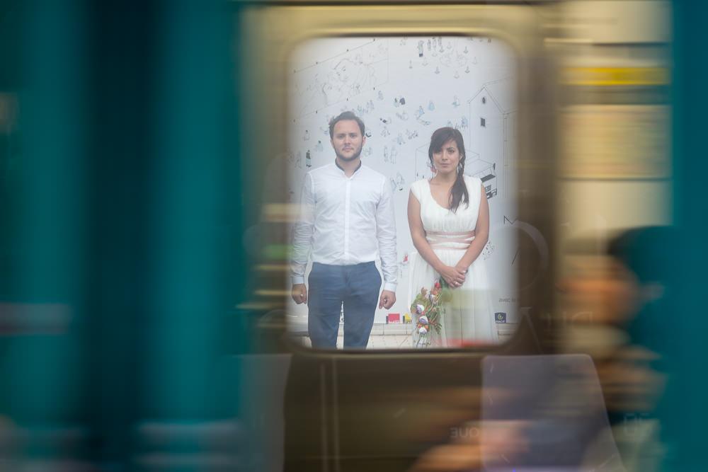 M+R – mariage aux Frigos de Paris