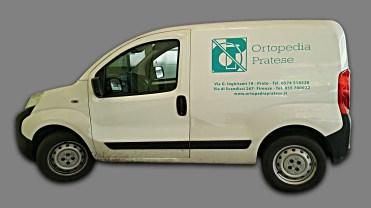 Peugeot Bipper - Prespaziati PVC per Ortopedia Pratese