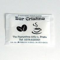 Bustina di zucchero bar Cristina