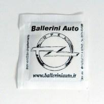 Bustina di zucchero concessionaria Opel Ballerini Auto